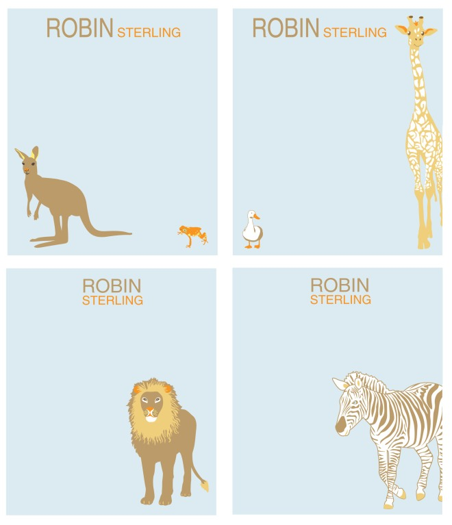 animal stationary