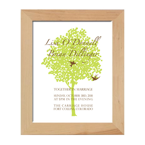 wedding art print