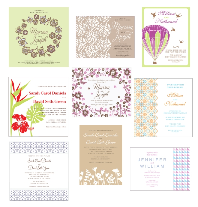 minted wedding invitation submissions