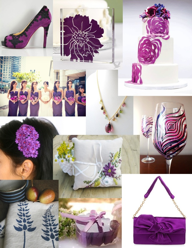 plum inspiration board