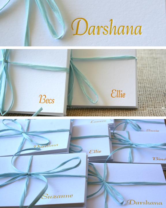 Letterpress by Sofia Invitations and Prints