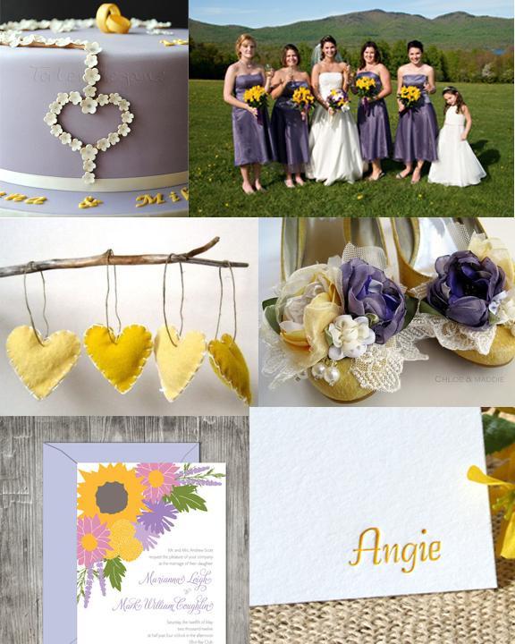 Jeanines Blog Wedding Purple Green Brown Paper Lantern Weddings