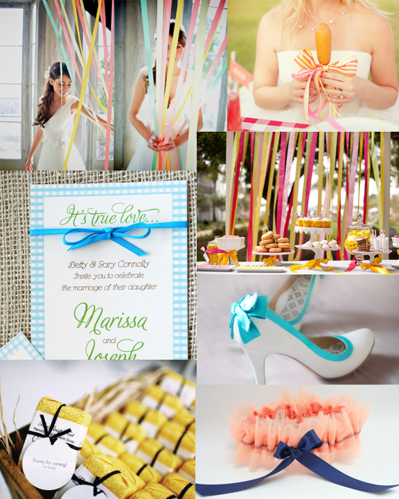 Ribbon Wedding Inspiration Sofia Invitations Blog