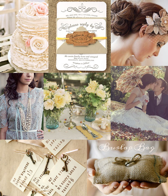 Wedding Ideas And Inspirations: Modern Vintage Fresh Wedding Inspiration