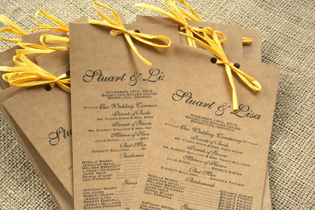 recycled sofia invitations blog – Etsy Rustic Wedding Invitations