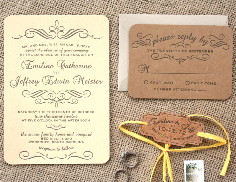 printing wedding invitations cork - 28 images - custom vintage fonts ...