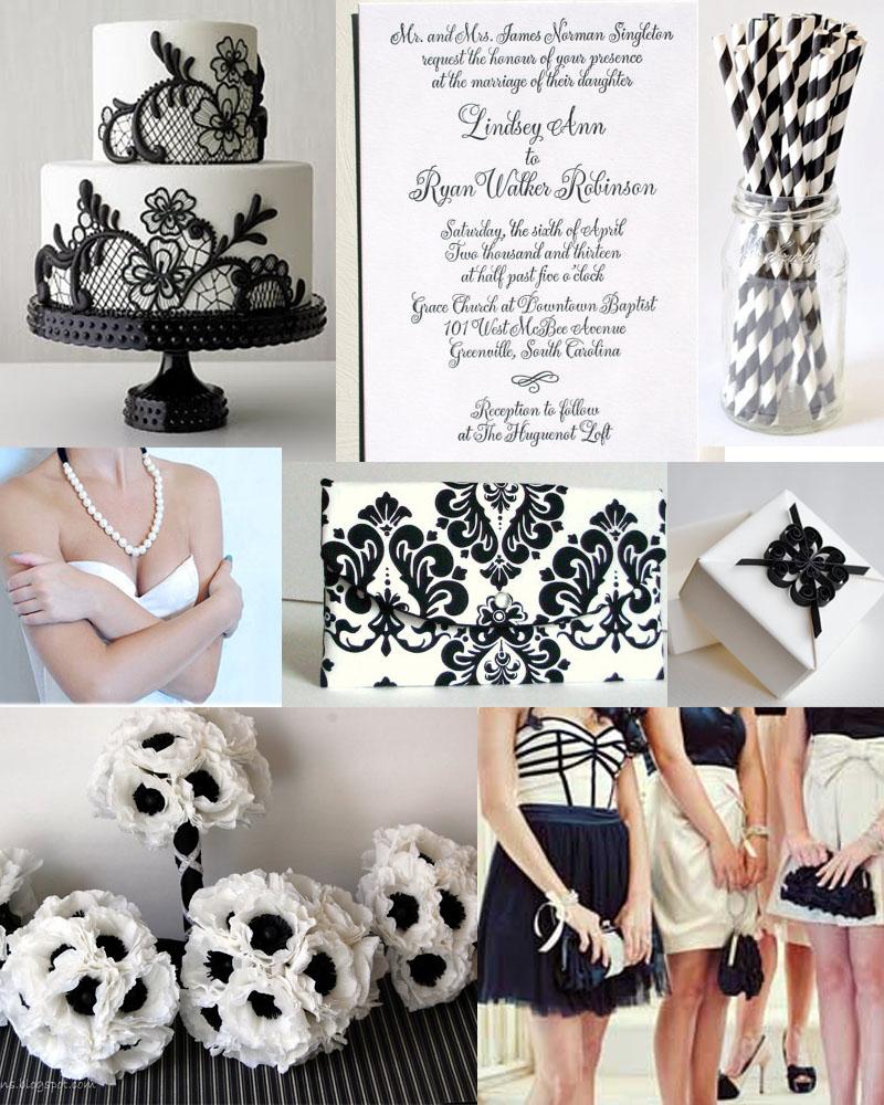Black and White Wedding Inspiration – sofia invitations blog