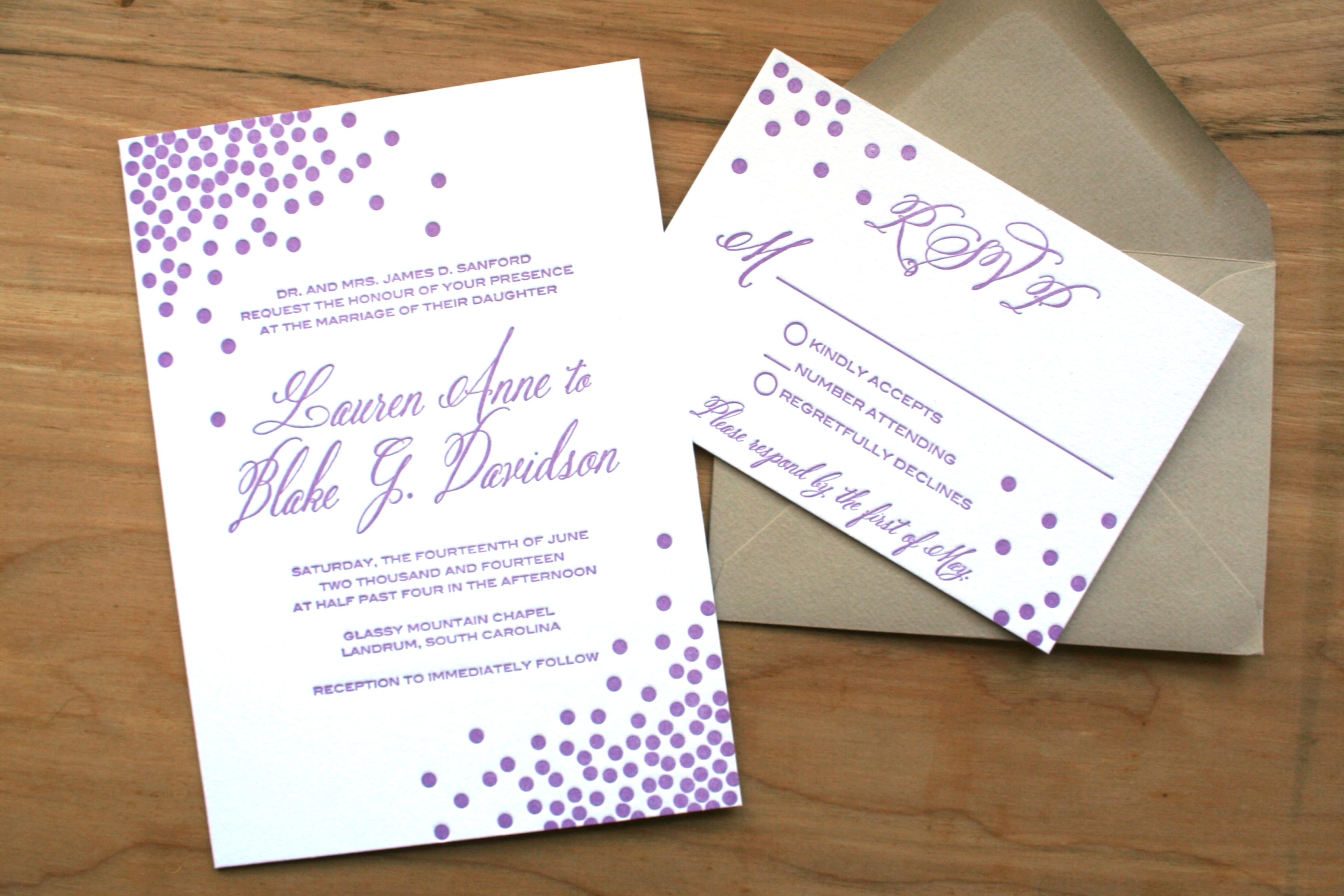 purple – sofia invitations blog
